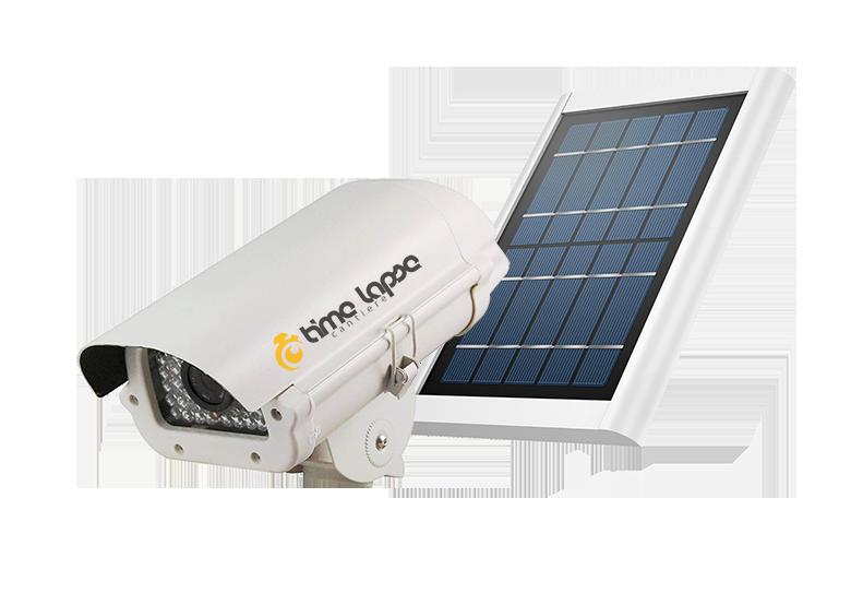Telecamere Cantiere con Pannello Solare
